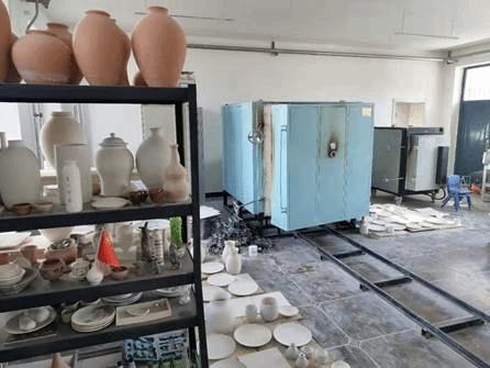 6、陶瓷烧制实训室